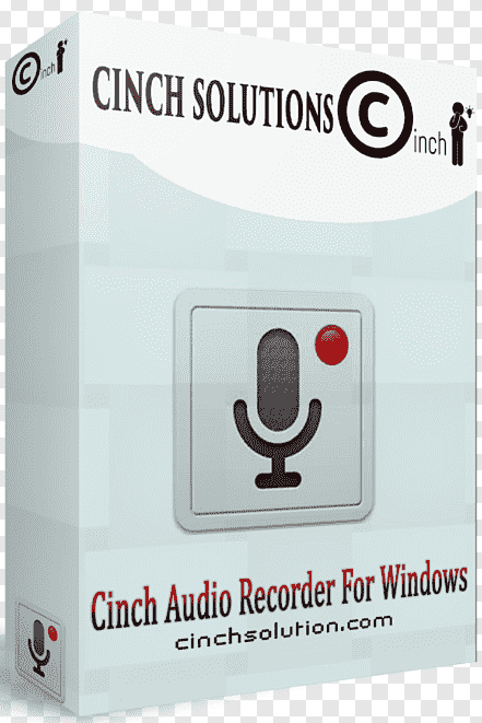 Cinch Audio Recorder 4.0.2 Crack With License Key Free Download