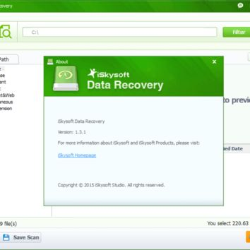 iSkysoft Data Recovery 5.3.1 Crack with Keygen Free Download